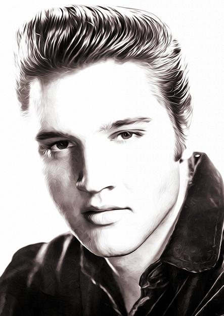 Vi hyllar Elvis Presley