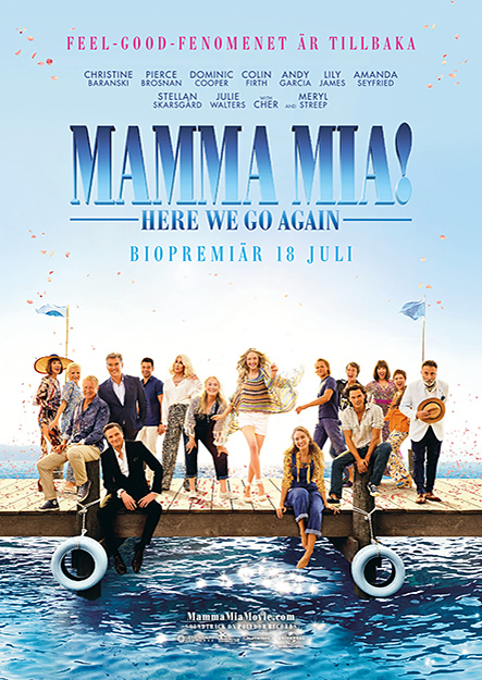 Mamma Mia! Here we go again (Stickcafé)
