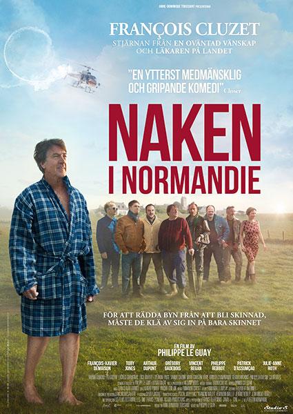 Naken i Normandie